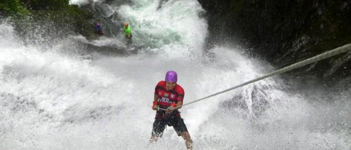 Waterfall Rappelling tour in Costa Rica