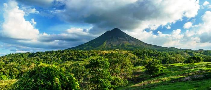 go to the right location such as arenal, monteverde or manuel antonio national park
