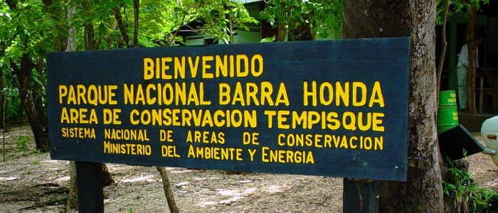 Located in the province of Guanacaste and created in the year 1974 Barra Honda National Park belongs to the Tempisque conservation area