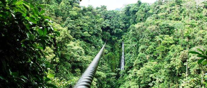 best zip lining tours in costa rica