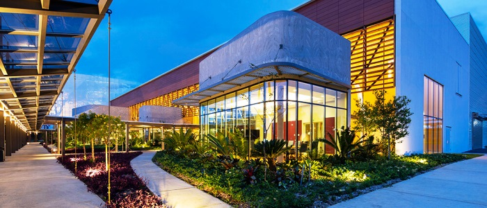visit the convention center in costa rica located among the rainforests of central america
