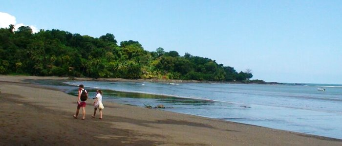 drake bay on a vacation in costa rica