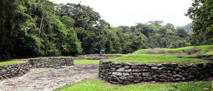 Historical site of Costa Rica