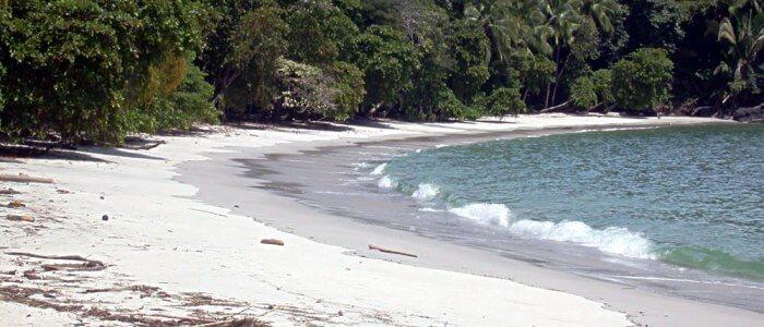 Beaches inside the park