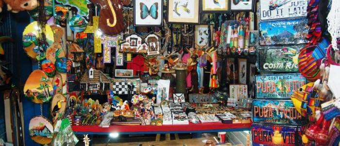 do some souvenir shopping in costa rica when travelling to this beautiful country