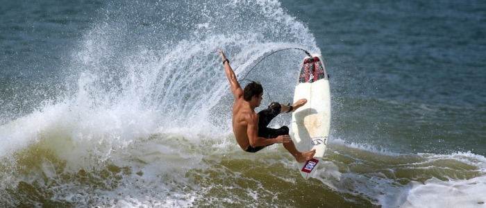 surfing in costa rica is great