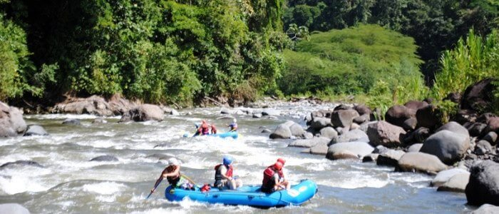 Naranjo River Rafting