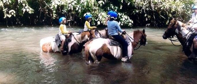 arenal volcano adventure horse ride tour