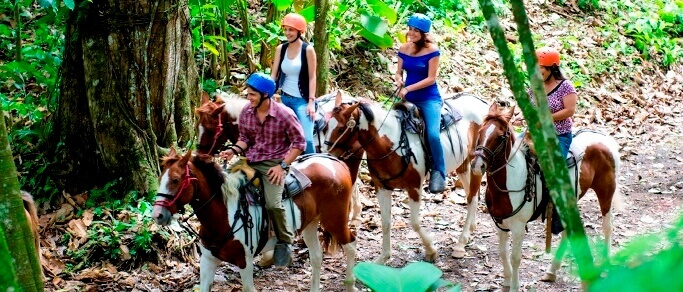 arenal volcano adventure horseback riding tour
