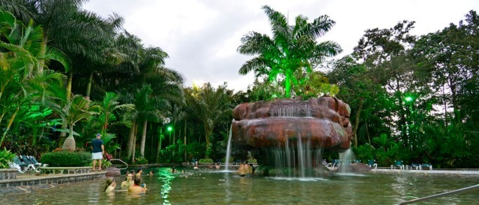 arenal volcano and baldi hot springs tour