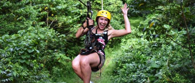 arenal zip lining tour from la fortuna