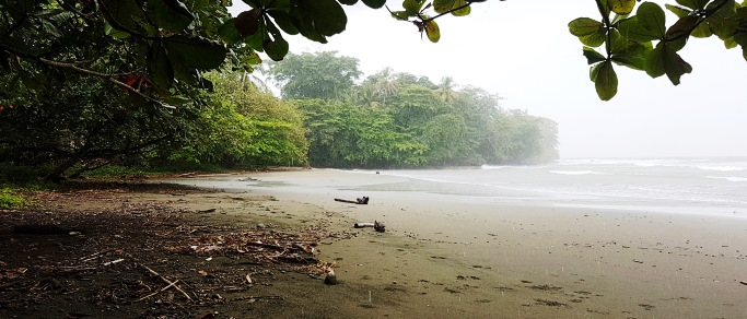 caribbean beach of costa rica