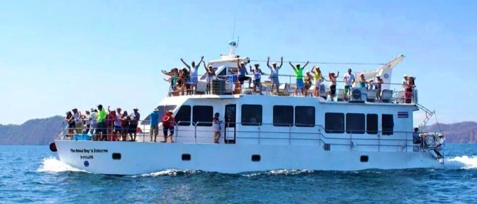 catamaran tour in costa rica
