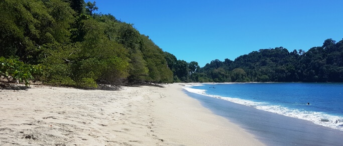 costa rica most beautiful beach
