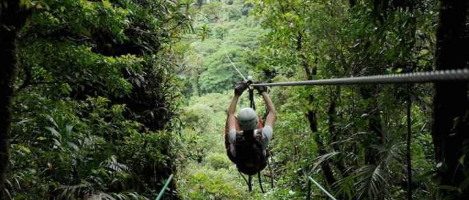 costa rica zip lining tour in guanacaste
