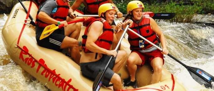 experience an exciting whitewater rafting tour in costa rica