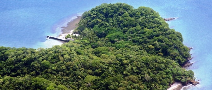 famous and beautiful island of costa rica