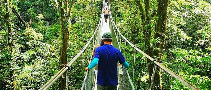 guanacaste hanging bridges tour