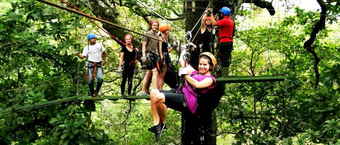 guanacaste zip lining tour in costa rica