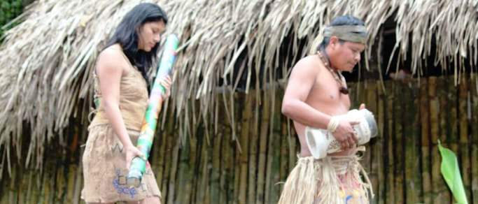 indigenous presentation in arenal