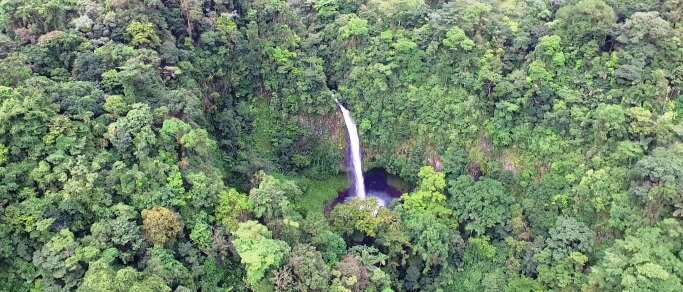 la fortuna waterfall tour rainforest hiking swimming