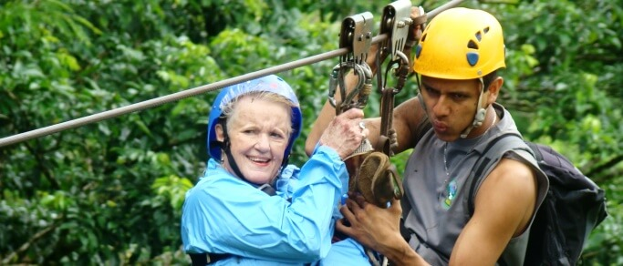 la fortuna zip lining tour for all ages