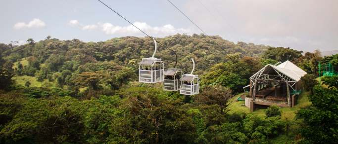 moneverde sky tram hanging bridges cloud forest tour
