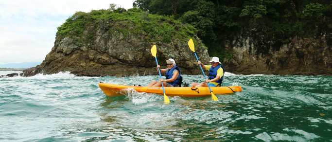 ocean kayaking snorkeling tour