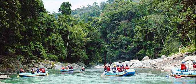 pacuare river white water rafting