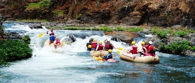 rafting adventure tour from guanacaste