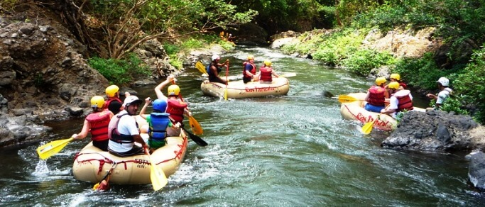 rafting tour from guanacaste