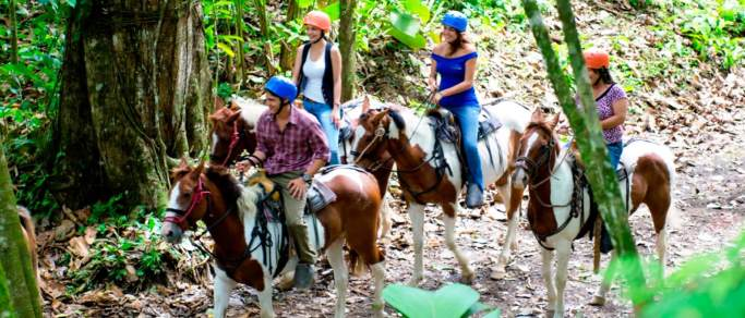 san jose adventure combo tour horseback riding