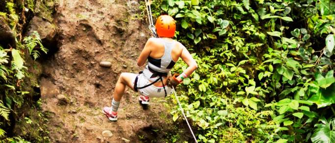 san jose adventure combo tour rappelling