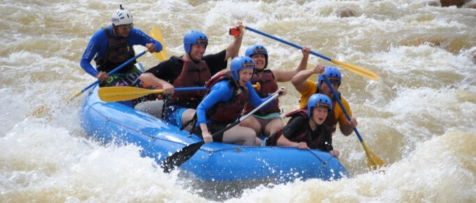 sarapiqui river rafting adventure tour