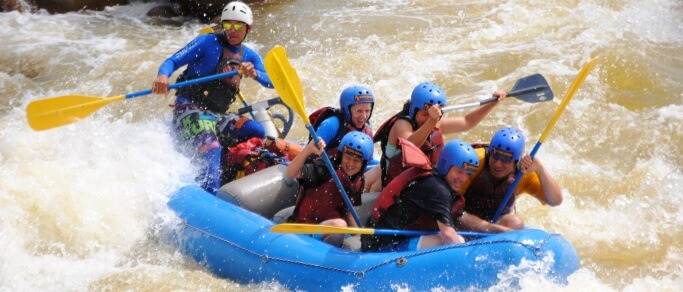 sarapiqui river white water rafting adventure