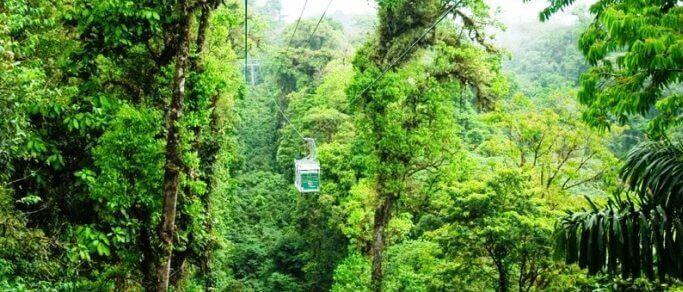 sky tram tour from arenal