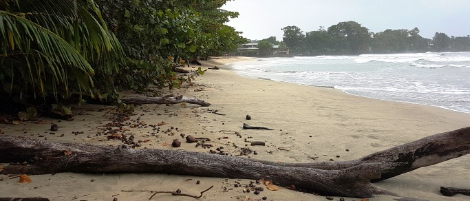 visit to two beautiful caribbean beaches of costa rica