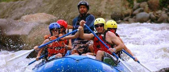 white water rafting tour from la fortuna