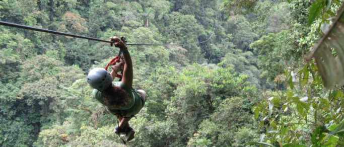 zip lining tour from riu resorts area