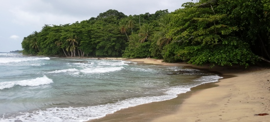 beautiful caribbean cost of costa rica