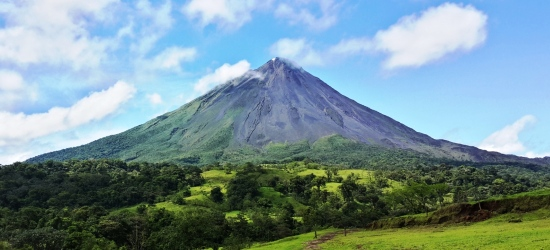 visit the arenal volcano area