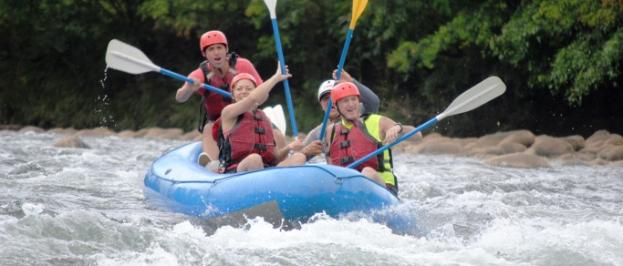 balsa river rafting