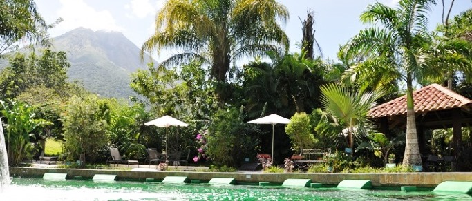 one of the best hot springs location in arenal